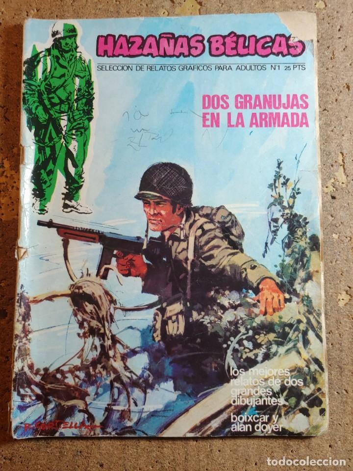 COMIC DE HAZAÑAS BELICAS EN DOS GRANUJAS EN LA ARMADA DEL AÑO 1973 Nº 1 (Tebeos y Comics - Toray - Hazañas Bélicas)