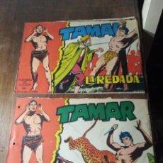 Tebeos: LOTE COMIC TEBEO TAMAR DE EDICIONES TORAY ORIGINAL 1961. Lote 278411543