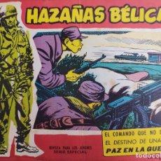 Tebeos: HAZAÑAS BÉLICAS, SERIE ROJA Nº EXTRA 88 - TORAY 1962. Lote 278613978