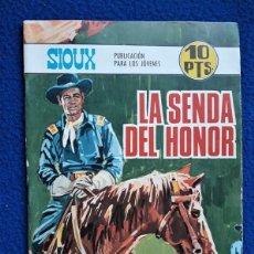 Tebeos: SIOUX Nº 107 - LA SENDA DEL HONOR. Lote 278702223