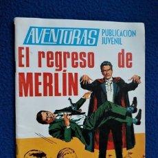 Tebeos: AVENTURAS Nº 20 - EL REGRESO DE MERLÍN - TORAY. Lote 278704558