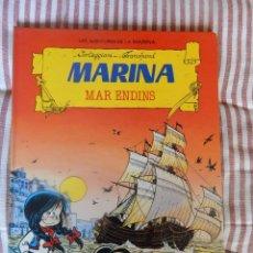 Tebeos: LES AVENTURES DE LA MARINA - MARINA MAR ENDINS - CATALA - N. 2. Lote 278762588