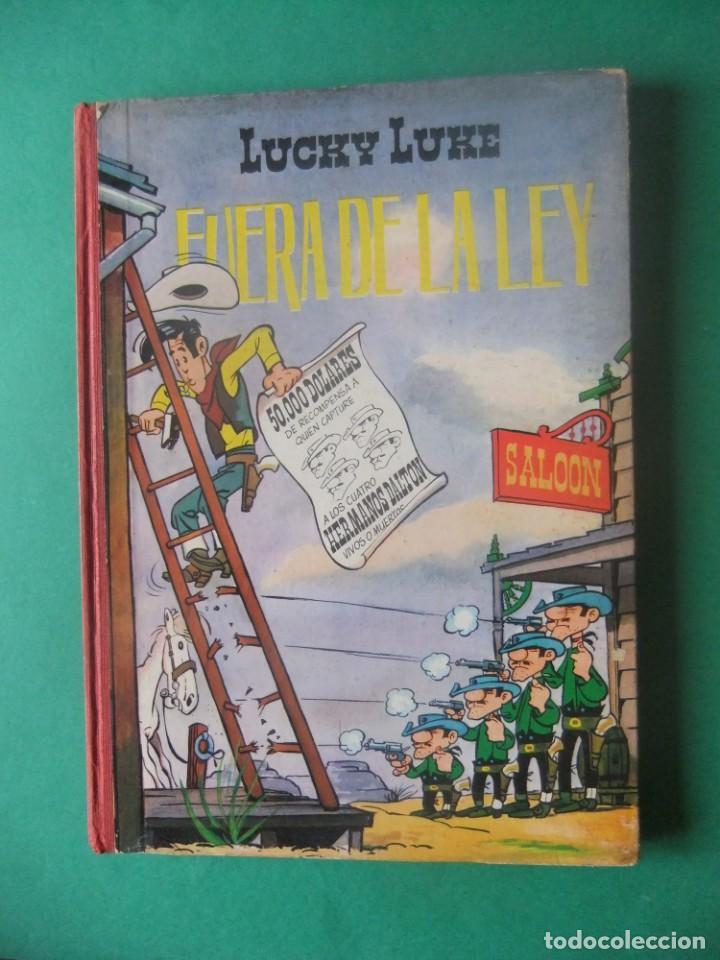 LUCKY LUKE FUERA DE LA LEYEDICIONES TORAY 1969 (Tebeos y Comics - Toray - Otros)