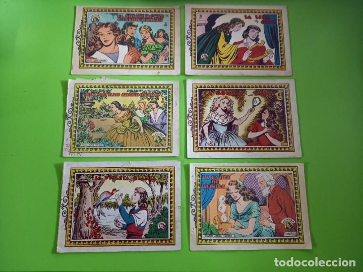 6 AZUCENA- TORAY -NUMEROS: 236-240-249-253-254-257 (Tebeos y Comics - Toray - Azucena)