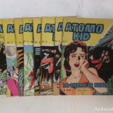 Tebeos: COLECCION COMPLETA -ATOMO KID--16 EJEMPLARES EN MUY BUEN ESTADO -EDICIONES TORAY AÑO 1957. Lote 279553663