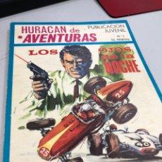 Tebeos: 1969 TORAY - HURACÁN DE AVENTURAS - LOS OJOS DE LA NOCHE - TRES HISTORIAS. Lote 280322623