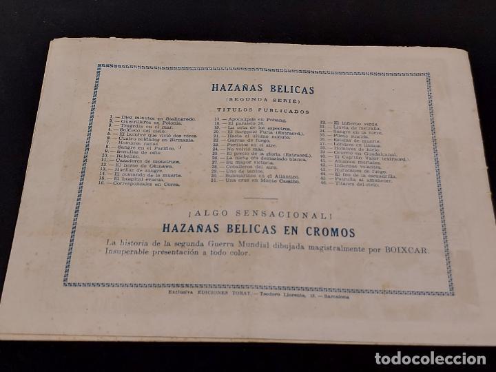 Tebeos: HAZAÑAS BÉLICAS / 46 / TITANES DEL CIELO / CON USO NORMAL DE LA ÉPOCA. - Foto 5 - 281926133