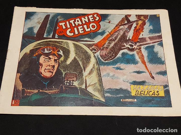HAZAÑAS BÉLICAS / 46 / TITANES DEL CIELO / CON USO NORMAL DE LA ÉPOCA. (Tebeos y Comics - Toray - Hazañas Bélicas)