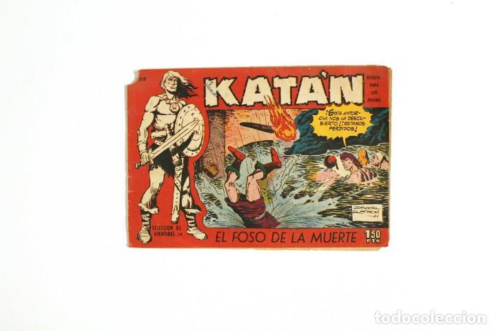 """CÓMIC """"KATAN"""" - """"EL FOSO DE LA MUERTE"""" - NÚMERO 241 - COLECCIÓN """"SELECCIÓN DE AVENTURAS"""" (Tebeos y Comics - Toray - Katan)"""