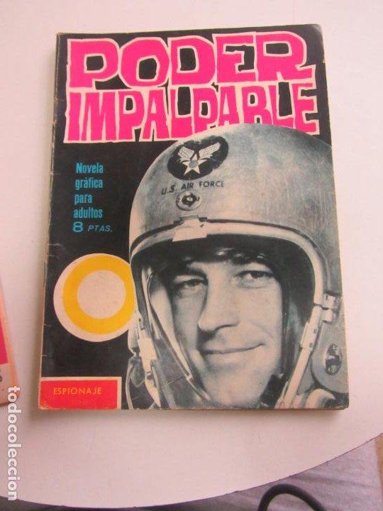 ESPIONAJE - Nº 6, PODER IMPARABLE - ED. TORAY SDX22 (Tebeos y Comics - Toray - Espionaje)