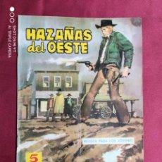 Tebeos: HAZAÑAS DEL OESTE. Nº 54. TORAY.. Lote 283839313