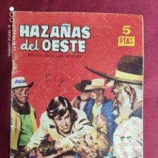 Tebeos: HAZAÑAS DEL OESTE. Nº 57. TORAY.. Lote 283839853