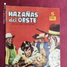 Tebeos: HAZAÑAS DEL OESTE. Nº 57. TORAY.. Lote 283840018