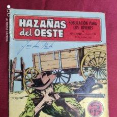 Tebeos: HAZAÑAS DEL OESTE. Nº 155. TORAY.. Lote 283845243