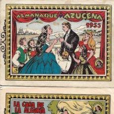 Tebeos: COLECCION DE 16 TEBEOS EDICIONES TORAY AÑOS 50 UNO DE ELLOS ALMANAQUE DE 1955 VER FOTOS. Lote 284162733
