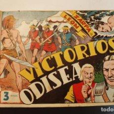Tebeos: ZARPA DE LEÓN, 60 NÚMEROS, COMPLETA EDITORIAL TORAY 1951. ENCUADERNADO EN 2 TOMOS. Lote 284767498