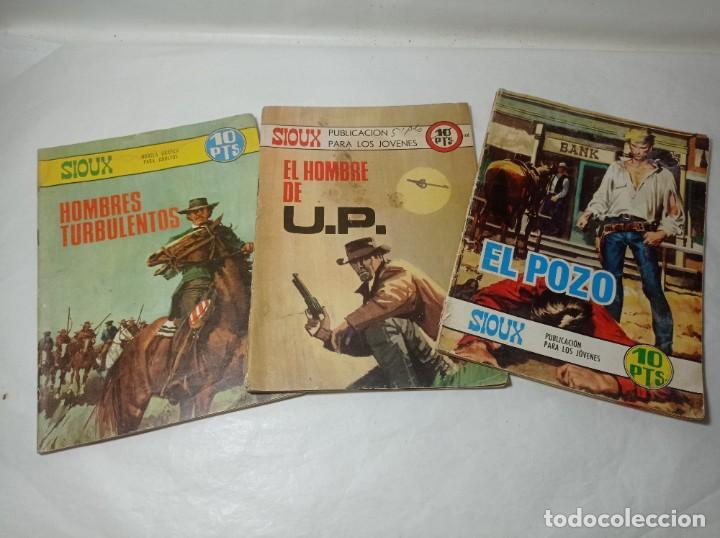 ORIGINAL AÑOS 70 LO TRES UNIDADES SIOUX TORAY AÑOS 60 (Tebeos y Comics - Toray - Sioux)