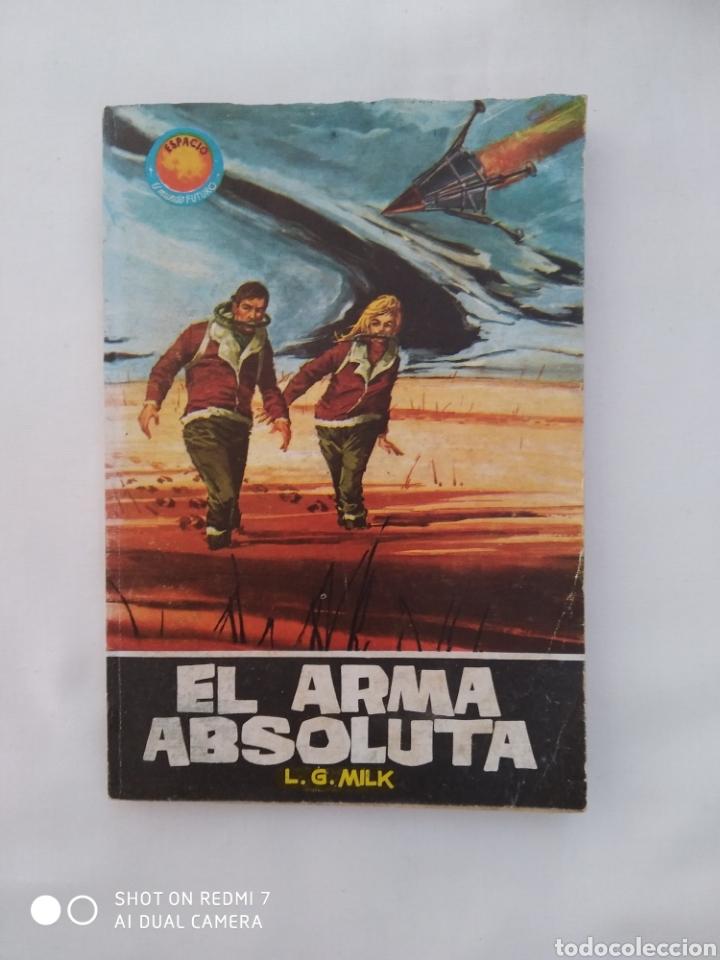 EL ARMA ABSOLUTA,L.G.MILK TORAY NO.341 1964 (Tebeos y Comics - Toray - Mundo Futuro)