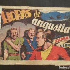 Tebeos: COMIC EDICIONES TORAY ORIGINAL ZARPA DE LEON HORAS DE ANGUSTIA NÚMERO 46. Lote 286314873