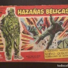Tebeos: TORAY ORIGINAL HAZAÑAS BÉLICAS EXTRA 99 SARGENTO MISERIAS NUEVO QUIJOTE TORBELLINO DE ACERO. Lote 286320773