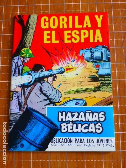 GORILA Y EL ESPIA Nº 228 DE TORAY (Tebeos y Comics - Toray - Hazañas Bélicas)