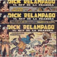 Tebeos: ARCHIVO * DICK RELAMPAGO Nº 2, 4, 7, 16, 27, * EDICIONES TORAY 1961 * ORIGINALES *. Lote 213738451