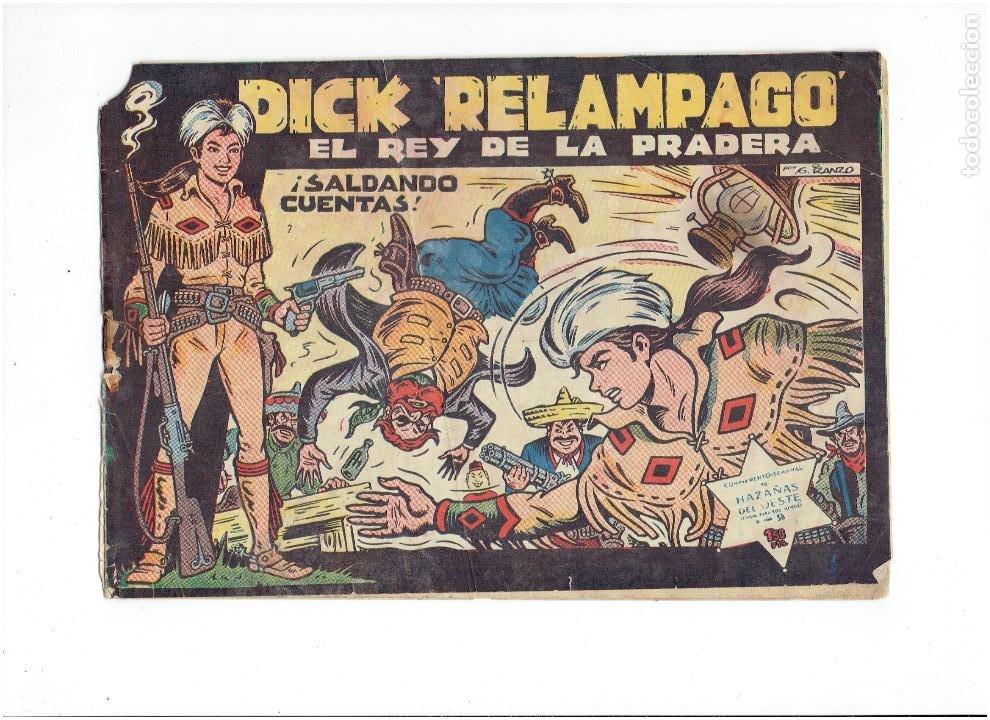 Tebeos: Archivo * DICK RELAMPAGO Nº 2, 4, 7, 16, 27, * EDICIONES TORAY 1961 * ORIGINALES * - Foto 2 - 213738451