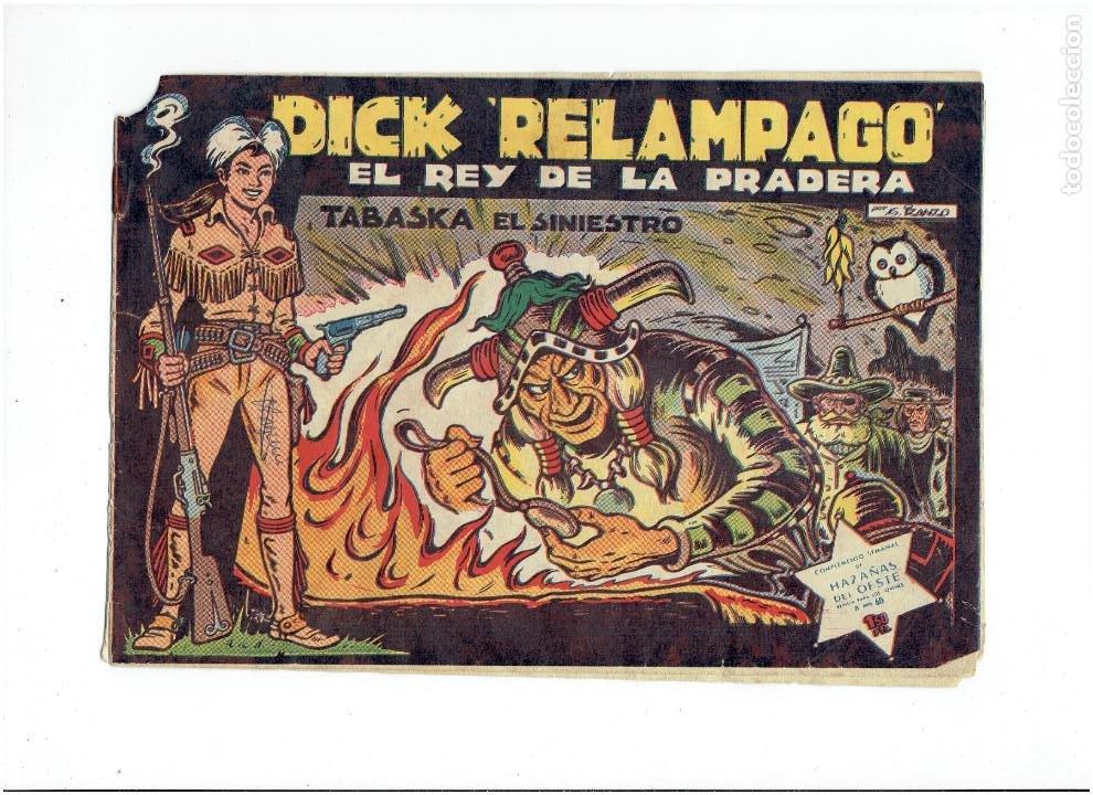 Tebeos: Archivo * DICK RELAMPAGO Nº 2, 4, 7, 16, 27, * EDICIONES TORAY 1961 * ORIGINALES * - Foto 4 - 213738451