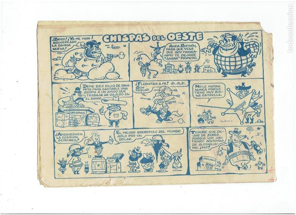 Tebeos: Archivo * DICK RELAMPAGO Nº 2, 4, 7, 16, 27, * EDICIONES TORAY 1961 * ORIGINALES * - Foto 5 - 213738451