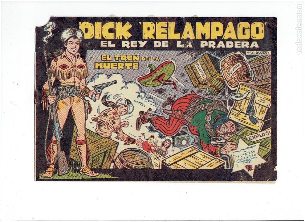 Tebeos: Archivo * DICK RELAMPAGO Nº 2, 4, 7, 16, 27, * EDICIONES TORAY 1961 * ORIGINALES * - Foto 6 - 213738451