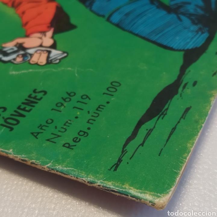 Tebeos: Hazañas del Oeste, nº 119 Viejos Rivales, Ediciones Toray 1966 - Foto 5 - 286701418