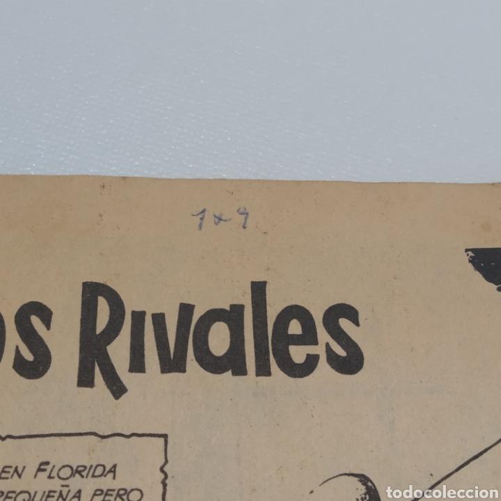 Tebeos: Hazañas del Oeste, nº 119 Viejos Rivales, Ediciones Toray 1966 - Foto 7 - 286701418