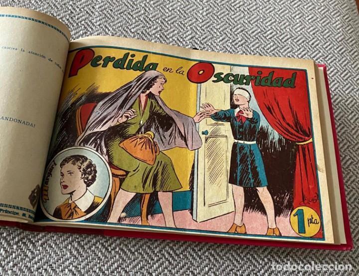 Tebeos: MARGARÍ. TORAY, 1950. JAIME JUEZ. COMPLETA ENCUADERNADA - Foto 3 - 286968208