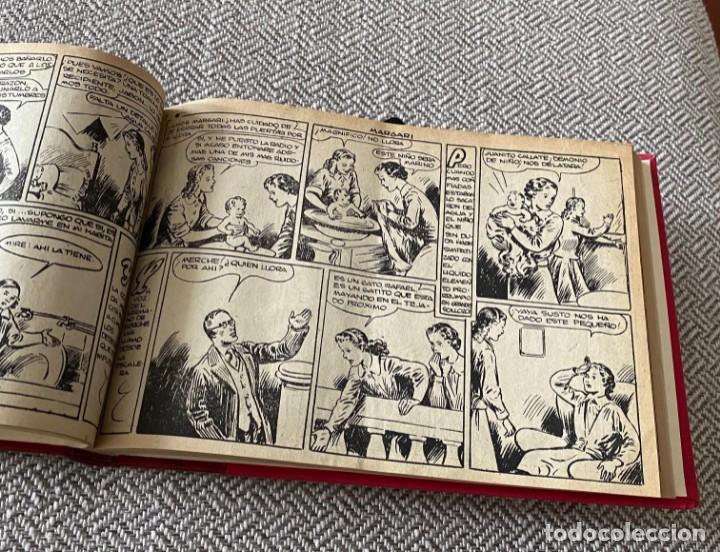 Tebeos: MARGARÍ. TORAY, 1950. JAIME JUEZ. COMPLETA ENCUADERNADA - Foto 6 - 286968208