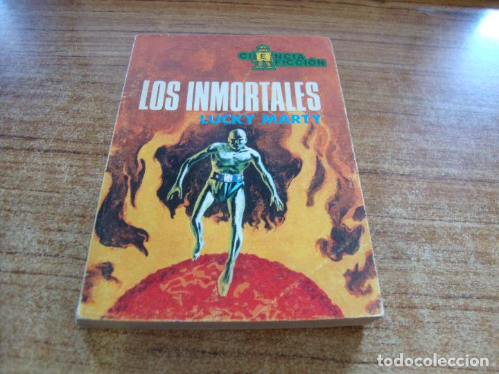 NOVELA CIENCIA FICCION LOS INMORTALES LUCKY MARTY Nº 61 (Tebeos y Comics - Toray - Otros)