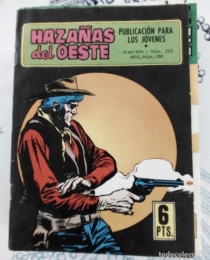 HAZAÑAS DEL OESTE N.º 225 EL ORO DE TUBACITY ED. TORAY 1970 (Tebeos y Comics - Toray - Hazañas del Oeste)