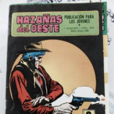 Tebeos: HAZAÑAS DEL OESTE N.º 225 EL ORO DE TUBACITY ED. TORAY 1970. Lote 287378243