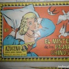 Tebeos: ANTIGUO TEBEO COMIC AZUCENA - EL MISTERIO DE LOS PAJAROS CHINOS - NUM 920 - 1965. Lote 287457433