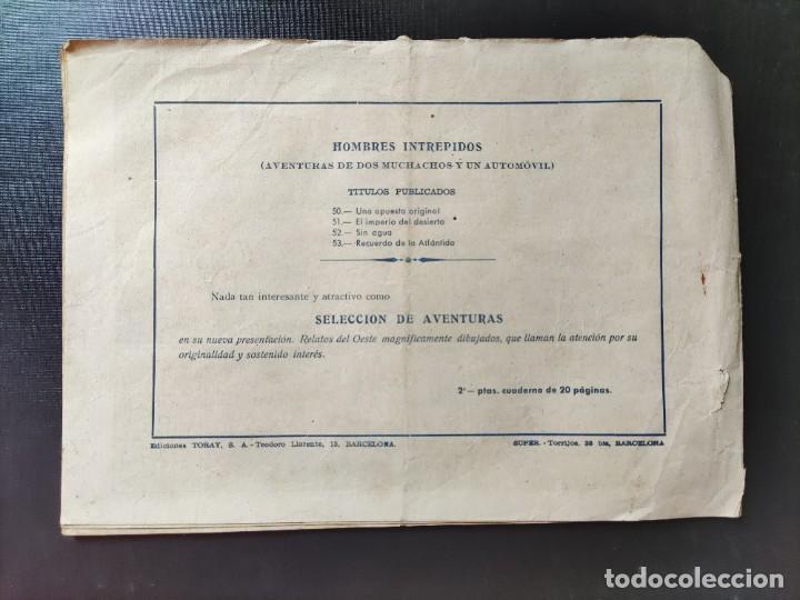 Tebeos: AVENTURAS DE LOS MUCHACHOS Y UN AUTOMÓVIL- HOMBRES INTRÉPIDOS- RECUERDO DE LA ATLÁNTIDA- N⁰53 - Foto 2 - 287480383