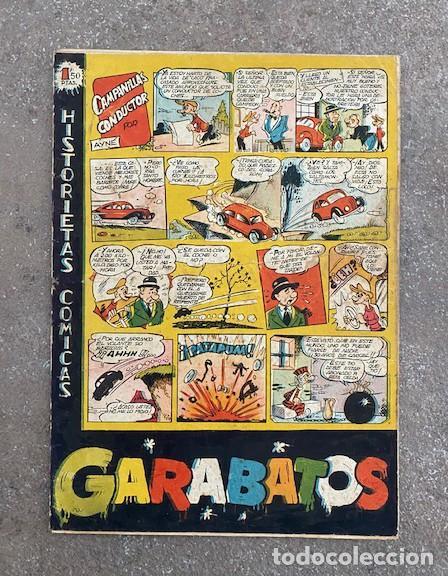 """GARABATOS. TORAY, 1950. """"CAMPANILLAS CONDUCTOR"""" VER TODAS LAS FOTOS! (Tebeos y Comics - Toray - Otros)"""