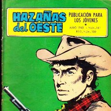 Tebeos: COMIC NOVELA GRAFICA COLECCION HAZAÑAS DEL OESTE Nº 161. Lote 287752623
