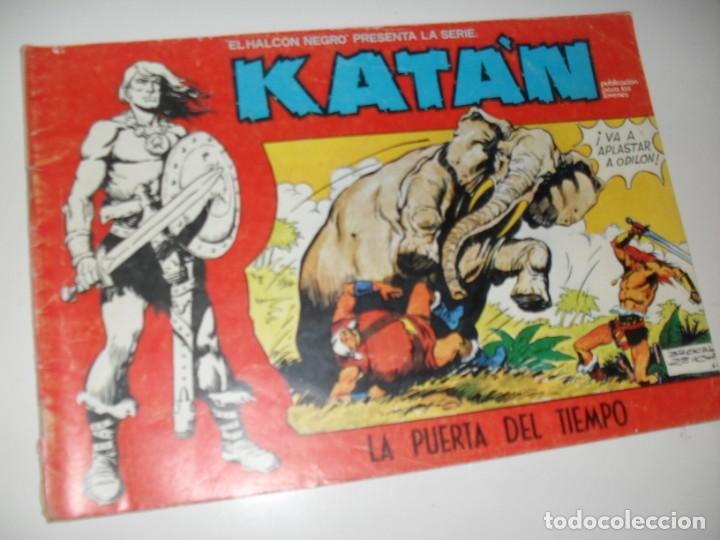 KATAN 3.URSUS EDICIONES,AÑO 1980. (Tebeos y Comics - Toray - Katan)