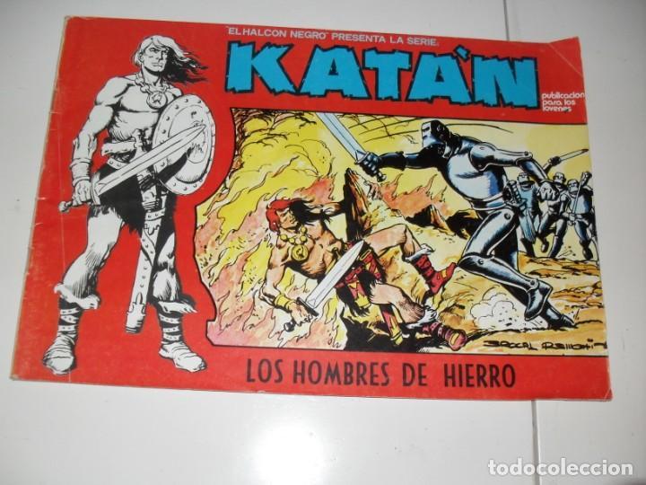 KATAN 1,EL PRIMERO.URSUS EDICIONES,AÑO 1980. (Tebeos y Comics - Toray - Katan)