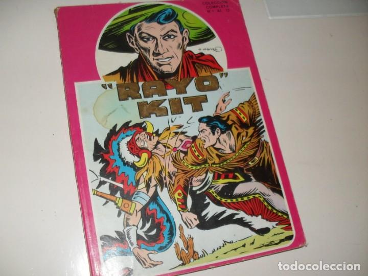 COLECCION COMPLETA RAYO KIT.REEDICION.EDICIONES URSUS,AÑO 1982. (Tebeos y Comics - Toray - Otros)