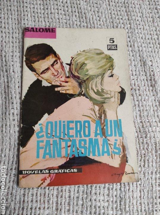 NOVELAS GRAFICAS GENERO ROMANTICO, SALOME Nº 31 , FOTO: LIZ TAYLOR -EDITA : TORAY 1963 (Tebeos y Comics - Toray - Otros)