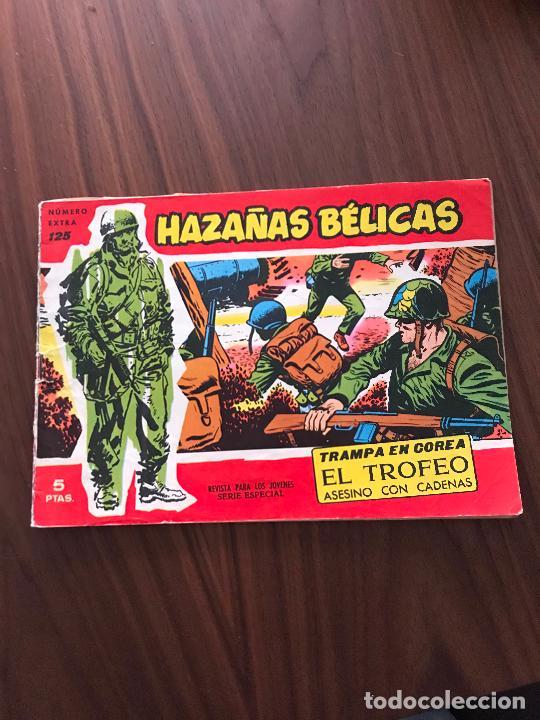 HAZAÑAS BÉLICAS ROJAS NÚMERO EXTRA Nº 125 , EDITORIAL TORAY (Tebeos y Comics - Toray - Hazañas Bélicas)