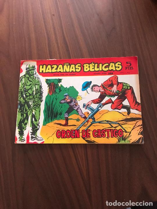 HAZAÑAS BÉLICAS ROJAS NÚMERO EXTRA Nº 159 , EDITORIAL TORAY (Tebeos y Comics - Toray - Hazañas Bélicas)