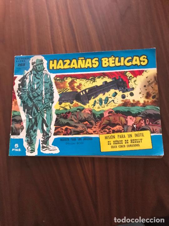 HAZAÑAS BÉLICAS AZULES NÚMERO EXTRA Nº 265 , EDITORIAL TORAY (Tebeos y Comics - Toray - Hazañas Bélicas)