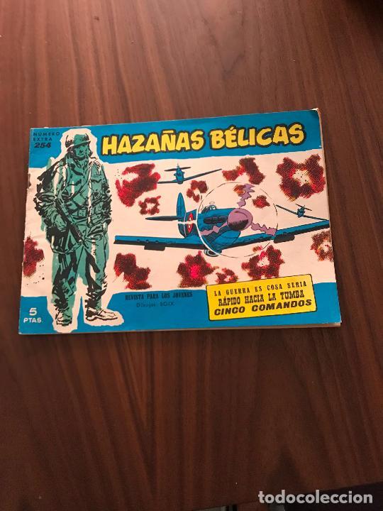 HAZAÑAS BÉLICAS AZULES NÚMERO EXTRA Nº 254 , EDITORIAL TORAY (Tebeos y Comics - Toray - Hazañas Bélicas)