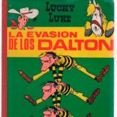 Tebeos: LUCKY LUKE LA EVASION DE LOS DALTRON. TORAY, 1964 LOMO TELA. Lote 288363108